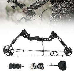 30-60lbs Pro Compound Bow Hand Bow Kit Archery Arrow Target Hunting Set Us