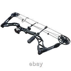 35-70lb Archery Compound Bow Set Ajustable Outdoor Sports Hunting Pratique