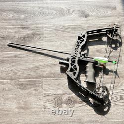 35lbs Mini Composé Bow Gauche Droite Tir À L'arc Chasse Bowfishing Sight Flèches