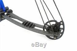 40-60lb 40 Le Tir À L'arc D'arc Composé En Aluminium S'ajustent Avec La Chasse Sportive M106 D'accessoires