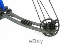 40-60lb 40 M106 Aluminium Arc Composé Arc À Régler Avec Accessoires Chasse Sportive