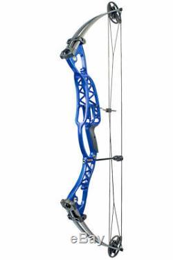 40-60lb 40 M106 Blue Hunting Aluminium Arc Composé Arc À Poulies Compouds