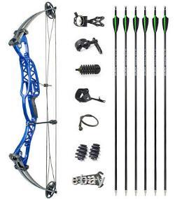 40-60lbs Compound Bow Set Réglable Main Droite Tir À L'arc À L'arc Gauche