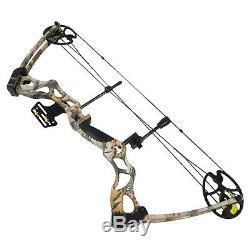 40-70 Lb Black / Green / Tree Camouflage Camo Archery Arbalète De Chasse 75 55