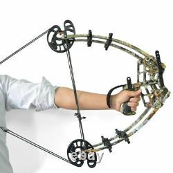 50lb Triangle Archery Bow Compound Bow Outdoor Bow-fishing Chasse À L'arc À Double Usage