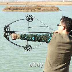 50lbs Archery Catapult Triangle Bow Compound Bow Steel Ball Bow-fishing Hunt États-unis