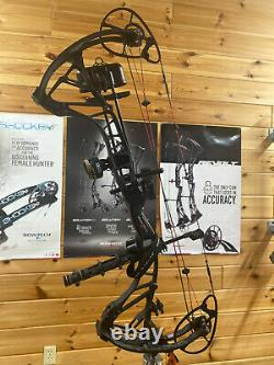 Amazing Bowtech RPM 360 Rh 60lb Hunting Bow Emballage Noir