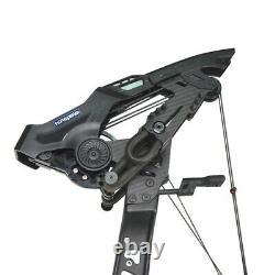 Arc Composé De Tir À L'arc 21.5-80lbs Catapulte À Double Usage Steel Ball Hunting Shooting Rh