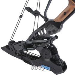 Arc Composé Double Utilisation Steel Ball 21.5lbs-60lbs Archery Arrows 330fps Chasse