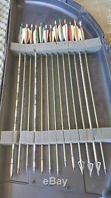 Arc De Chasse Composé Avec Browning Backdraft Pour Gaucher, Avec Étui Et Flèches