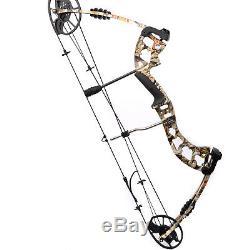 Arc De Lame De Chasse Composé De Camo De M125 30 70 Ibs Pour Le Tir À La Cible De Tir À L'arc