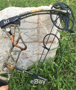 Archery Camo Compound Bow Kit 20-70lbs Chasse Droitier Avec Jeu De Flèches