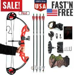Archery Compound Bow 15-29 Lbs Pro Droite Hand Kit Bow Target Practice Hunting Us