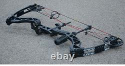 Archery Compound Bow Arrow Set 30-70lbs 329fps Sight Shooting Hunting Target