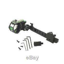 Archery Compound Bow Sight Lock Micro Réglable 5 Broches. 019 Pousse De Chasse