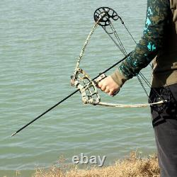 Archery Triangle Compound Bow 50lbs Outdoor Shooting Bow-fishing Bow Hunting