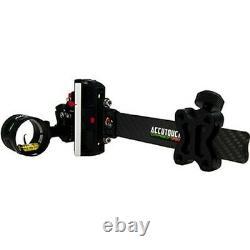 Axcel Acut-c119-3gb Accutouch Carbon Pro. 019 Rh / Lh 1 Pin Tir À L'arc Bow Sight