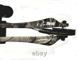 Bear Archery Apprentice 2 Compound Bow Rh 60lbs + 3 Flèches