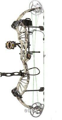 Bear Archery Approche Hc Droite Main 55-70lb. Veil Alpine Camo Prête À L'hunt Pkg