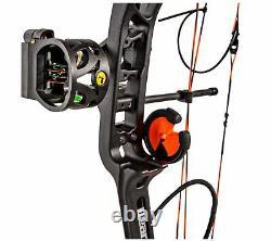 Bear Archery Legit Extra 70lbs (shadow) Rh Compound Bow Package #av15a2x117r
