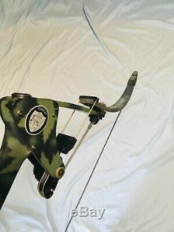 Bow Pêche Oneida Tomcat Aigle Arc Pêche Chasse Droite Med 25-50-70 Excellente