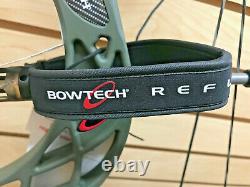 Bowtech Carbon Zion Chasse Bow 25,5 À 30,5 Dessiner 70lb Membres Rts