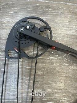 Bowtech Combustible Composé Chasse Bow 18 À 30 Hr 30# À 70# Noir Utilisé