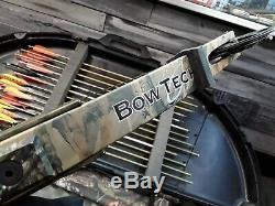 Bowtech Patriot 29 Lbs 60-70. Rh Droitier Bow Forfait De Chasse Tir À L'arc