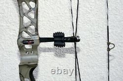 Bowtech Revolt Rh 50# Hunting Bow, Great Shape, Mossy Oak Brown Country Roots