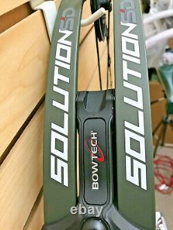 Bowtech Solution Sd Chasse Bow Green 23.5-28.5 Dessiner Lgth 70lb Dessiner La Longueur