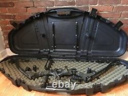 Browning Bridger Plus Camo Composé De Chasse Bow Rh USA Protector Case 30 50 Lbs