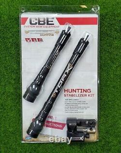 Cbe Custom Bow Equipment Torx Stabilisateur Kit Cbe-actxkt