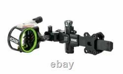 Cbe Cx-5 Carbon Dovetail Archery/hunting Sight 5 Pin. 019 Avec Main Droite/gauche