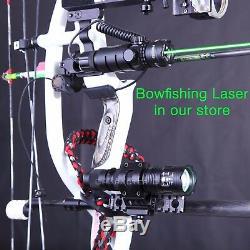 Chasse Rvb Et Blanc Lumière Pour Le Composé Bow Bowfishing-rail Picatinny 10 Modes