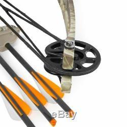 Composé Xtremepowerus Arbalète 180 Lbs 320 Fps Tir À L'arc Chasse Équipement Quiver