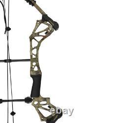 Compound Bow 15-70lbs Aluminium Ajustable Tir À L'arc Hunting Shooting Arrow Repos