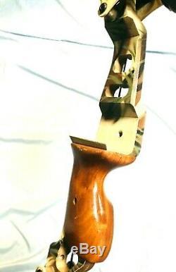 Dépêchez-force De Rare Oneida Lite Magnum Aigle Arc Pêche Chasse Rh 30-50-70 À Long Tirage