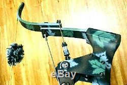 Dépêchez-menthe Oneidas Fish Hunt Bow Aero Force X80 Eagle Rh 20-35-55 Lb 28-31 Med