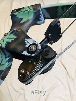 Dépêchez-vous Oneida Eagle X80 Aero Force Poissons / Chasse Rh Med Tirage 30-50-70 Lb