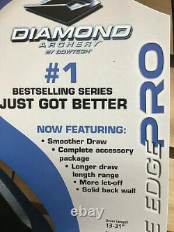 Diamant Infini Edge Pro Bow De Chasse 13-31 Dessiner 5-70 Lb Noir