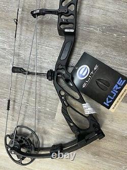 Elite Kure Compound Hunting Bow 23 À 30 Rh 60# À 70# Noir