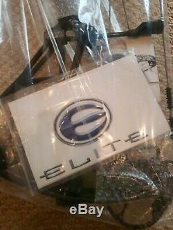 Elite Option 6 3d Ninja Noir 3d Bow Rh Hunting / 60 # / 28 Tout Neuf Garantie Avec