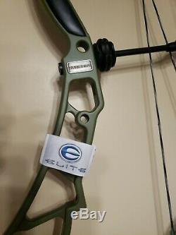 Elite Synergie Vert Olive 3d Bow Rh Hunting / 70 # / 29 Tout Neuf Garantie Avec