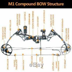 Ensemble Complet Us Topoint M1 Réglable Compoud Chasse À L'arc Tir À L'arc Cible