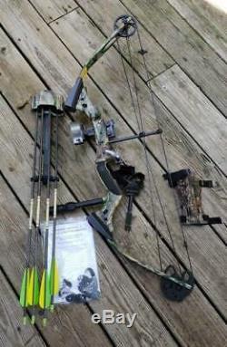 Ensemble De Chasse À L'arc À Poulies Ranger III De Darton Archery. Pré Possédé