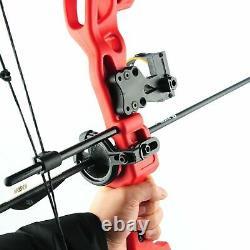 Ensemble De Chasse Au Tir À L'arc Bow 15-29 Lbs Pro Droite Hand Kit Bow Target Practice Us