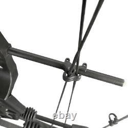Ensemble De Flèches De L'arc Composé 30-70lbs Réglables Chasse À L'arc Tirer Lâcher 85 %