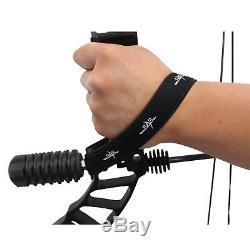 Ensemble Sas Pro Feud 25 À 70 Lb Compound Bow Pro Combiné Prêt À Chasser Entièrement Chargé