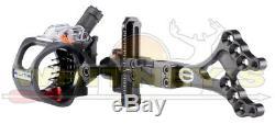 Ex5 Elite Hunting Tir À L'arc Bow Sight 5 Broches Main Droite Lumière Réglable Ex05-5-rh