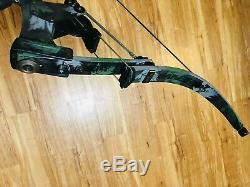 Excellente Oneida Eagle Aero Force X80 Pêche À Droite Arc De Chasse 30-60-80 Tirage Au Sort